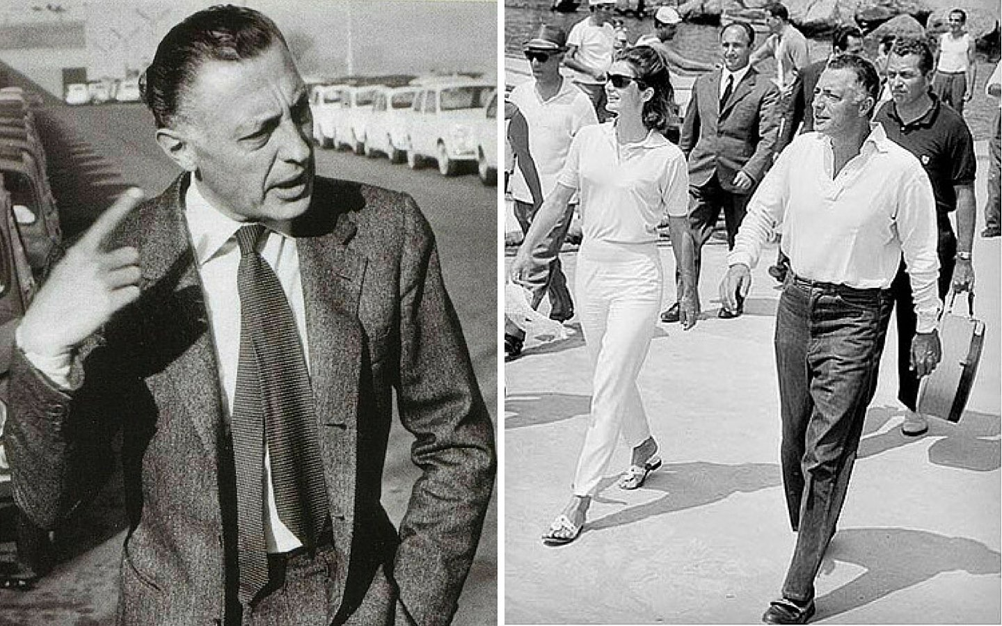 Effortless: Gianni Agnelli and Jackie Kennedy