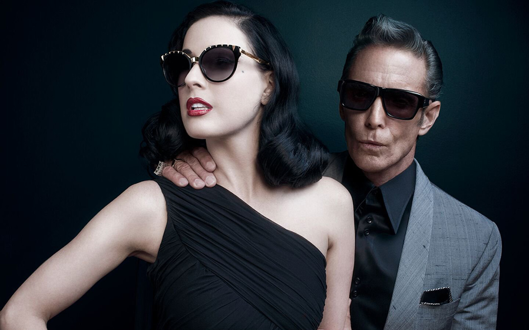 Dita diva oozes old Hollywood glamour