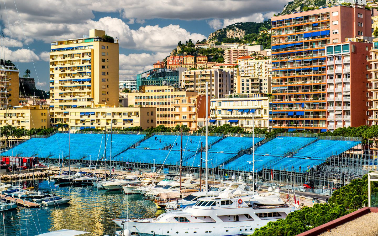 Fab setting for the Formula One Monaco Grand Prix