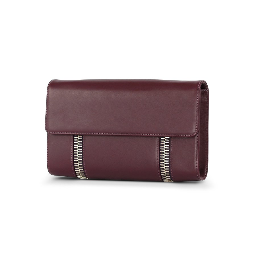 Virgil James | Quality Leather Clutch | Buenos Aires Collection